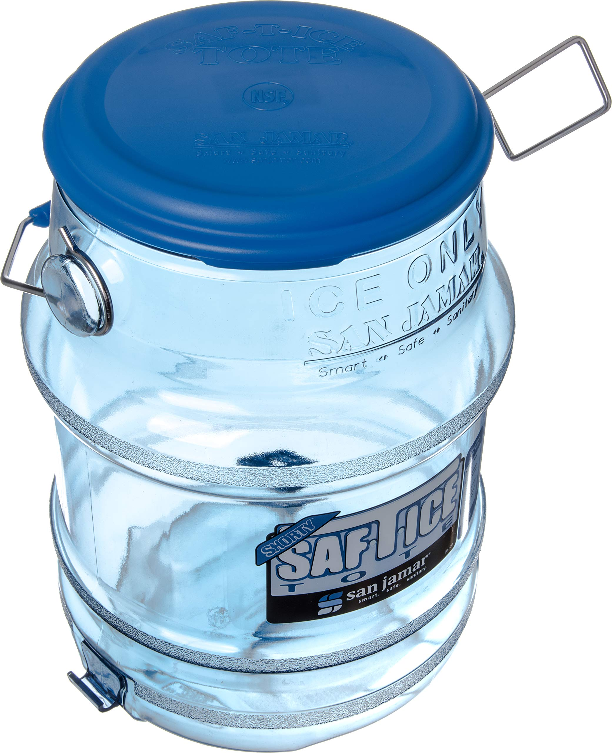 San Jamar Saf-T-Ice Commercial Ice Tote Snap-Tight Lid by San Jamar (Image #5)