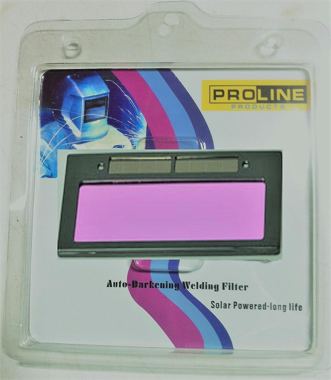 """4-1//4/"""" x 2/"""" Solar Auto Darkening Welding Helmet//Mask Lens Filter Shade 3-11 Tool"""