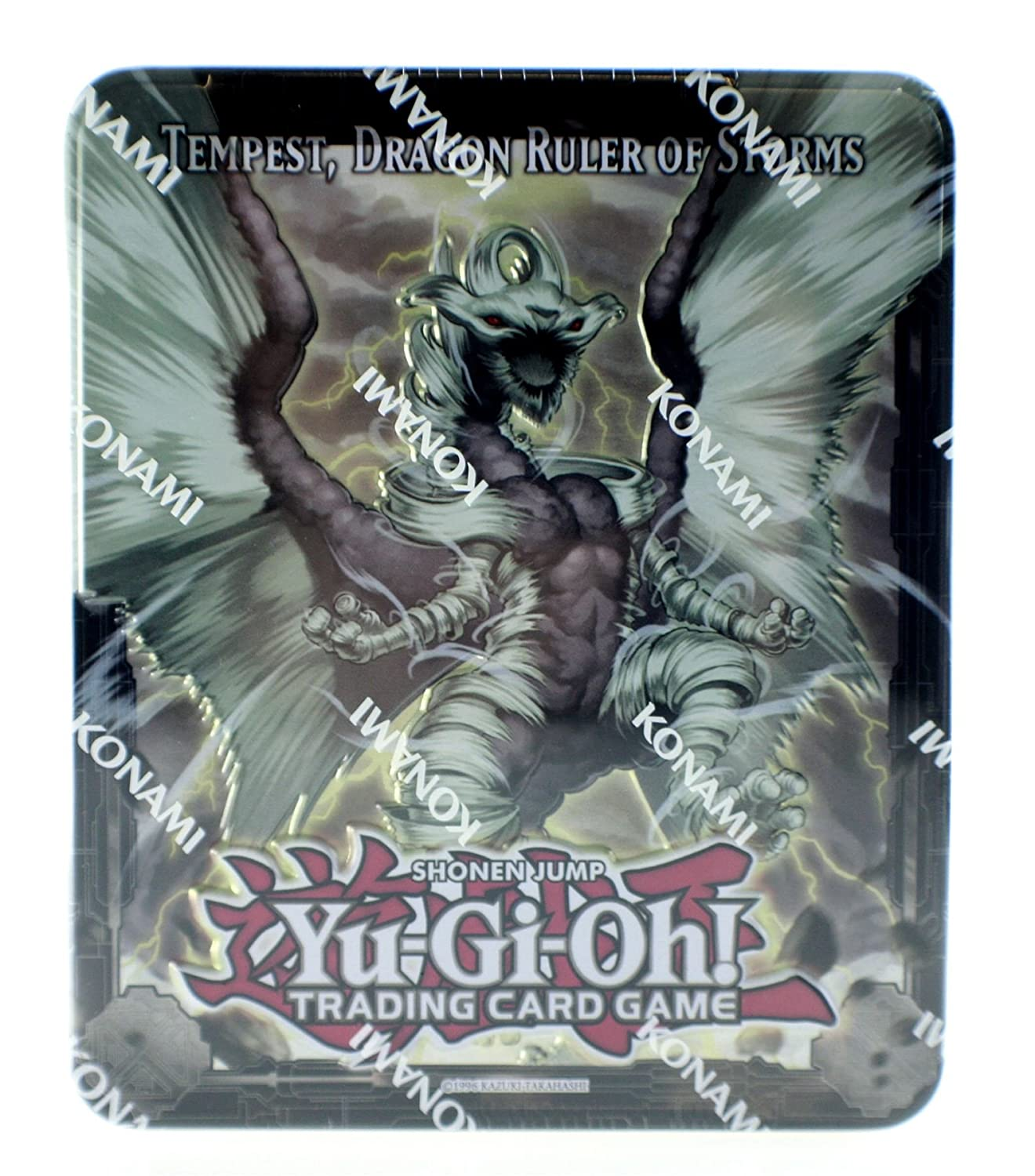 YuGiOh Tempest Dragon Ruler of Storms Collectors Tin 2013 Trading Card Game