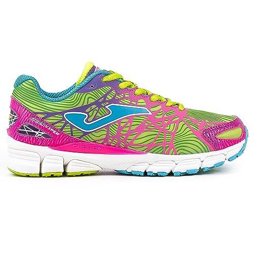 Joma R.Storm Viper Lady 611 Fluor-Rosa. - Zapatillas de Running Mujer: Amazon.es: Zapatos y complementos