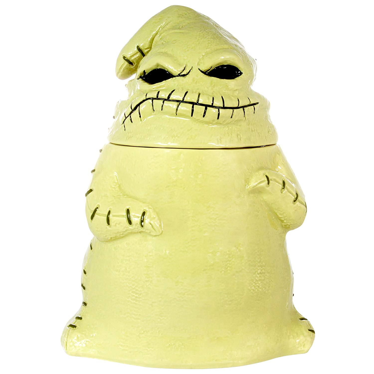 Seven20 Tim Burton's The Nightmare Before Christmas Ceramic Oogie Boogie Figural Cookie Jar