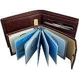TnW Men's Brown Artificial Leather Wallet