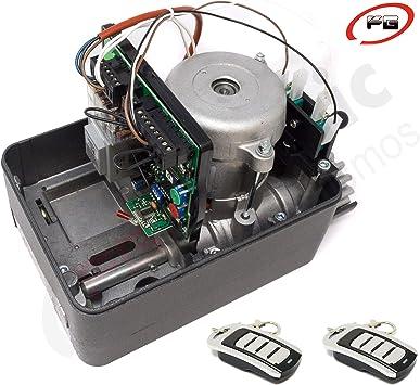 Kit motor puerta corredera VDS GEKO 400 Kg para automatizar ...