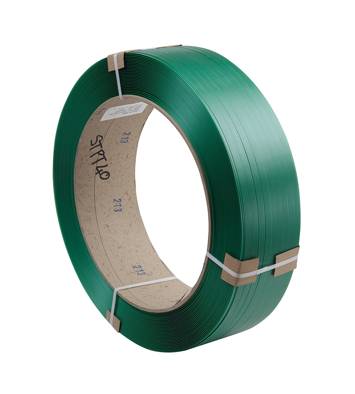Swiftpak 12.5 x 0.70mm x 2100m Green PET Strapping (406/150) (Pack of 1) Swiftpak Limited STPT30