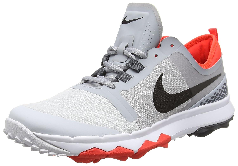 Nike Golf- FI Impact 2 Shoes B00XZNAYAA 10 D(M) US|Grey Dark Grey Black Orange