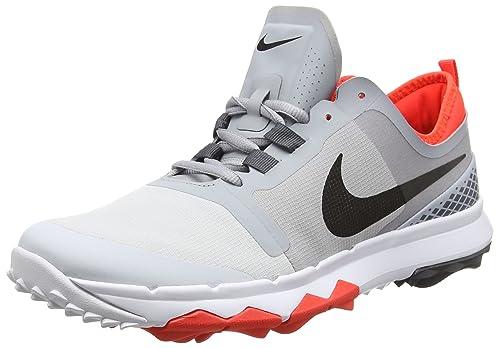 huge discount fbb28 464e5 Nike Mens Golf Perfrmance Scarpe Uomo, Bianco (GrisNegroPlata 001)