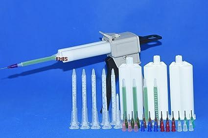 ab73366d5d 50ML AB glue cartridge 2: 1 1: 1 Manual Dispense Gun with Cartridge ...