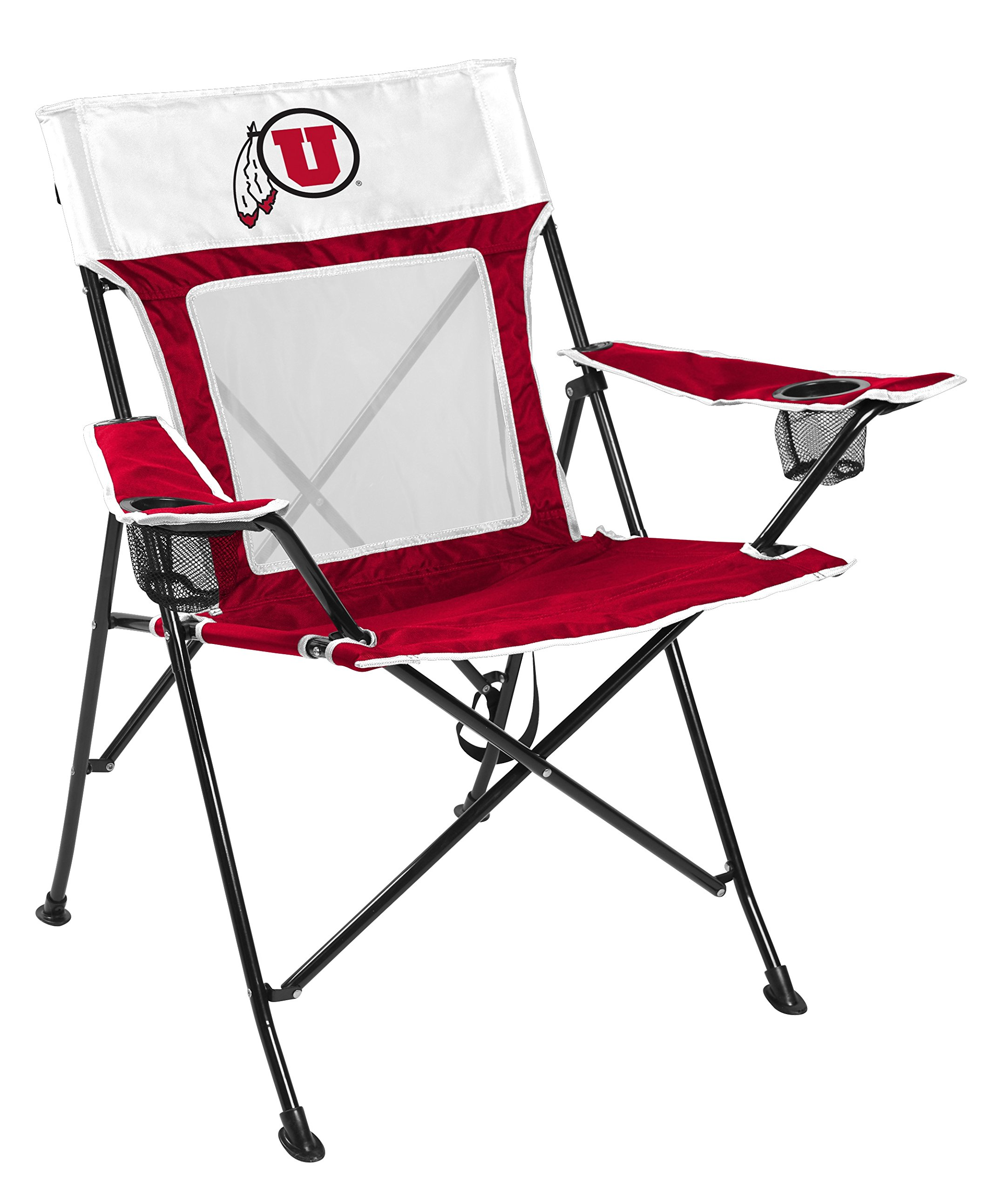 Rawlings NCAA Game Changer Large Folding Tailgating and Camping Chair, with Carrying Case (ALL TEAM OPTIONS), University of Utah by Rawlings