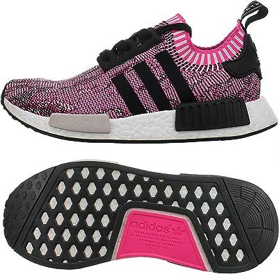 Amazon Com Adidas Nmd R1 Primeknit Women Shock Pink Bb2363