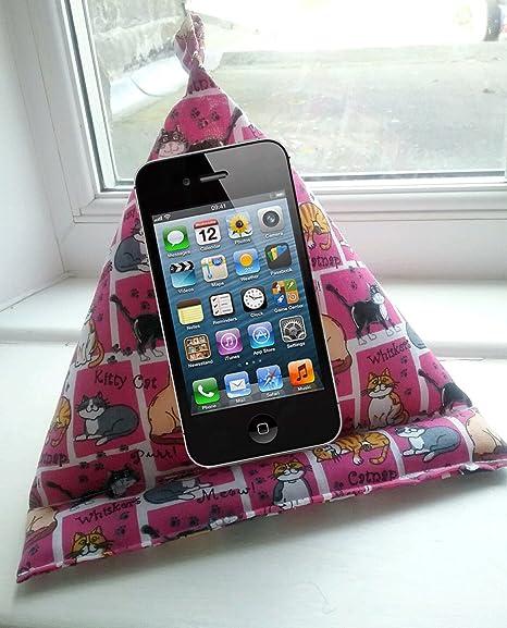 Gato amante regalo - Soporte de tablet Kindle ipad Ebook puf ...