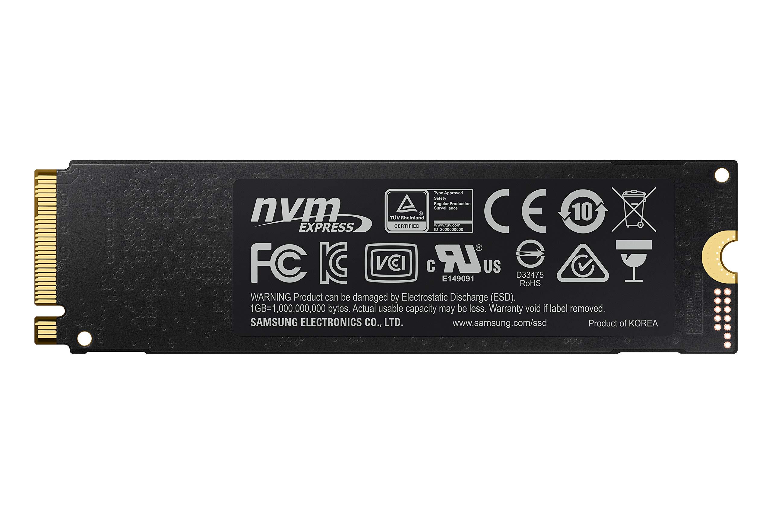 Samsung 970 EVO Plus Series - 1TB PCIe NVMe - M.2 Internal SSD (MZ-V7S1T0B/AM) by Samsung (Image #11)