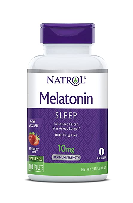 The Melatonin Tablets by Natrol travel product recommended by John Breese on Pretty Progressive.
