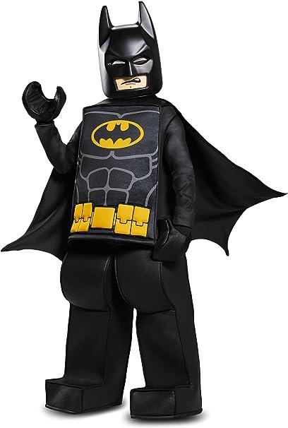 Disguise Batman Lego Movie Prestige Costume, Black, Large (10-12)