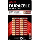 Duracell Quantum QU1500BKD09 Alkaline-Manganese Dioxide AA Battery, 1.5V, -4 to 130 Degrees F (36, Battery Type - AA)