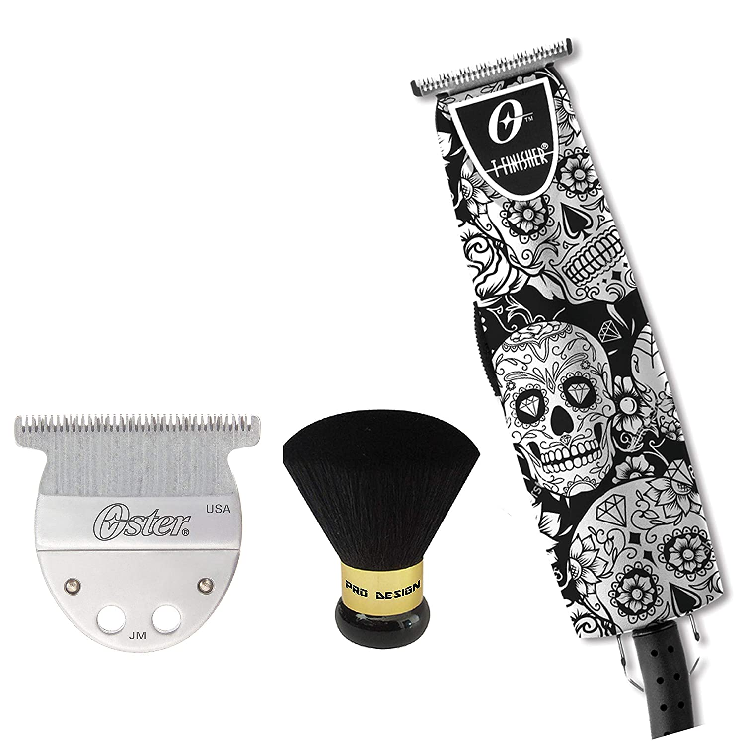 Oster Ac T-finisher Trimmer Skulls Limited Edition with Bonus Neck Duster