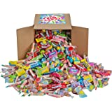 Assorted Candy Party Mix, Appx. 8 LB Bulk - OVER 450 Pieces - Valentines Day - Fire Balls, Airheads, Jawbusters, Laffy Taffys