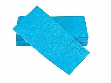 amazon com simulinen dinner napkins disposable aqua blue cloth