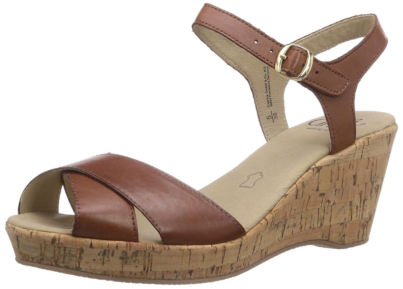 the latest 5a90c d3fc3 CAPRICE 28352, Women's Ankle-Strap: Amazon.co.uk: Shoes & Bags