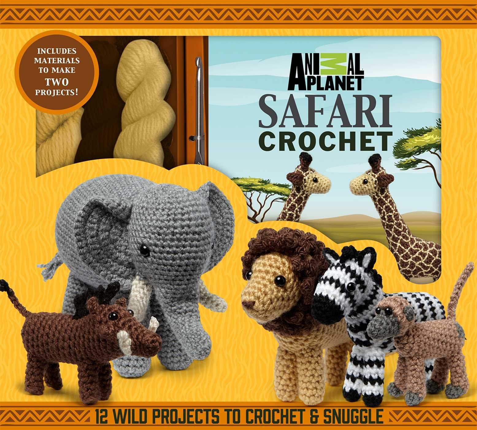 Animal Planet Safari Crochet Galusz product image