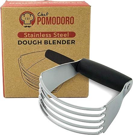Chef Pomodoro Multi Purpose Dough Blender, Stainless Steel