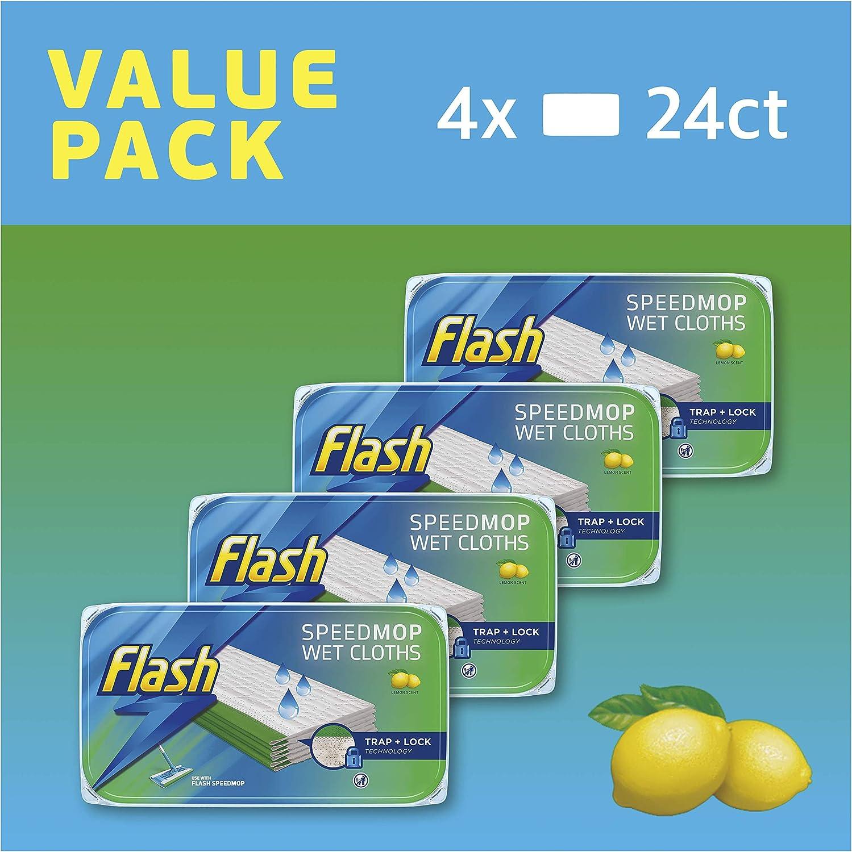 Flash Speedmop - Recambios para trapos húmedos (fácil e higiénico ...