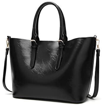 23df6edfad9 Buy Molodo Women PU Leather Big Shoulder Bag Purse Handbag Tote Bags Online  at Low Prices in India - Amazon.in
