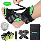 2020 New Upgraded Green Night Splint for Plantar Fascitis, AiBast Adjustable Ankle Brace Foot Drop Orthotic Brace for…