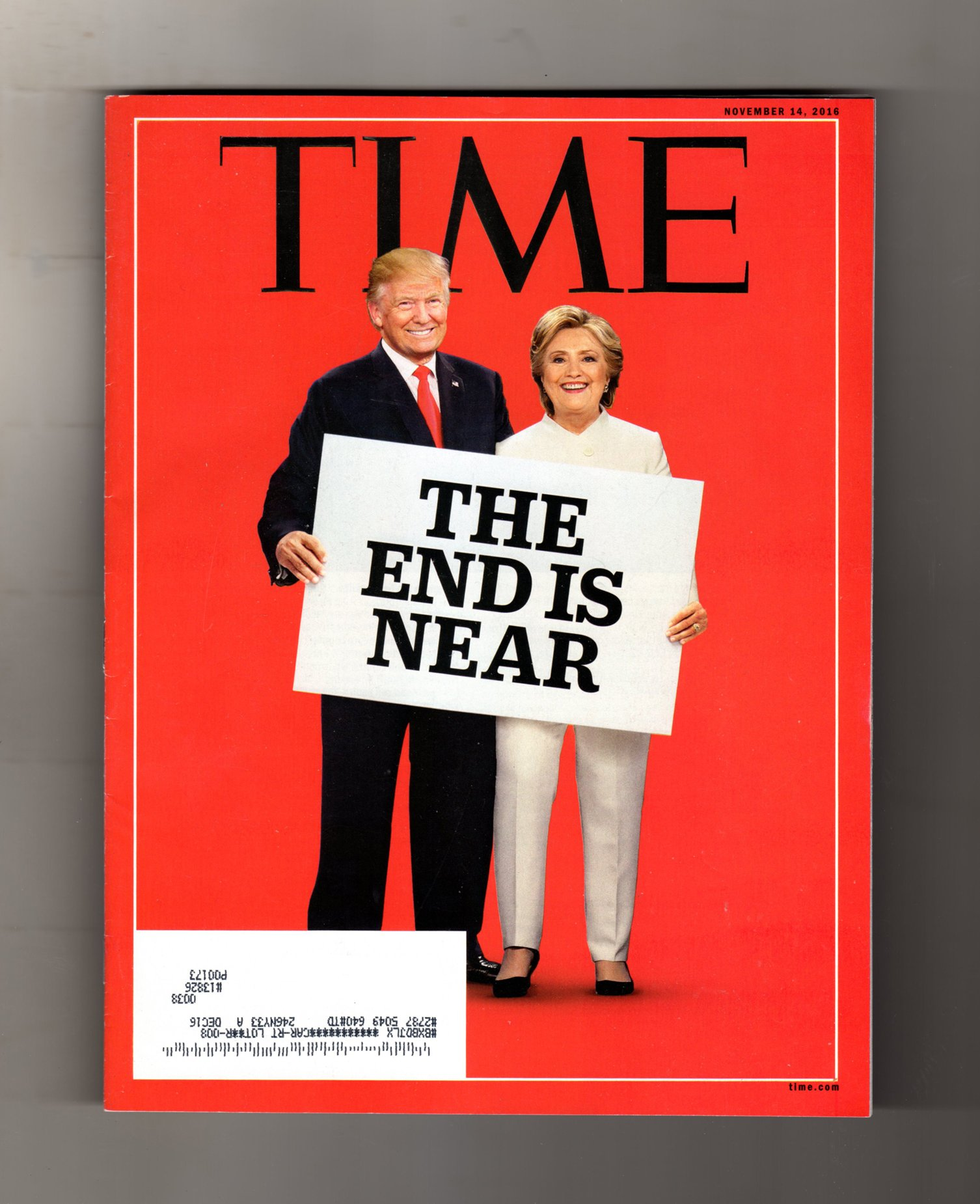 Time Magazine November 14 2016 Trump Clinton The End Is Near Nancy Gibbs Managing Editor Amazon Com Books