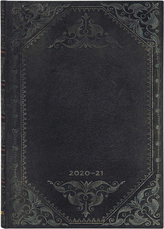 Paperblanks Agendas 18 Meses 2020-2021 Rebelde de Medianoche Liso, Apaisado, Midi (130 × 180 mm) DS6556-2