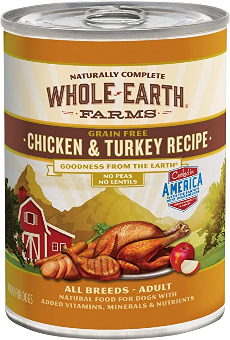The Best Whole Earth Chicken Turkey Dog Food