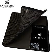 KATZEENA - praktische Katzen-Unterlage für Katzentoilette   Katzenklo-Streu-Matte   Sandwich-Vorleger für alle Streu-Arten - Grösse: 75x57x1,5cm