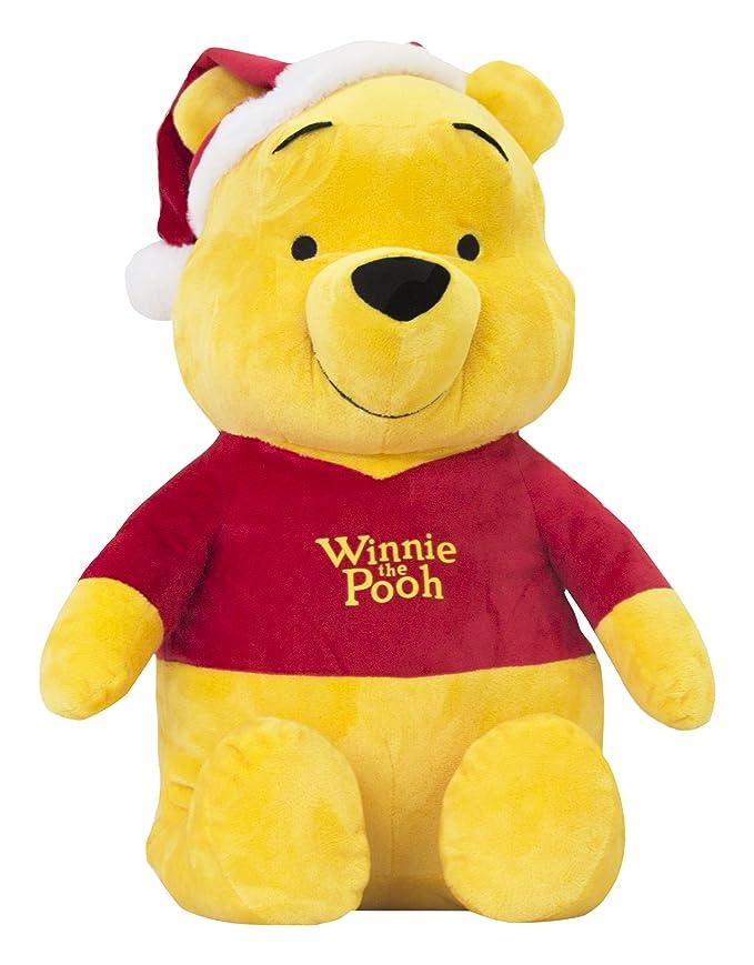 Disney Winnie The Pooh de Navidad wn32105 de Peluche, 45 cm: Amazon.es: Juguetes y juegos