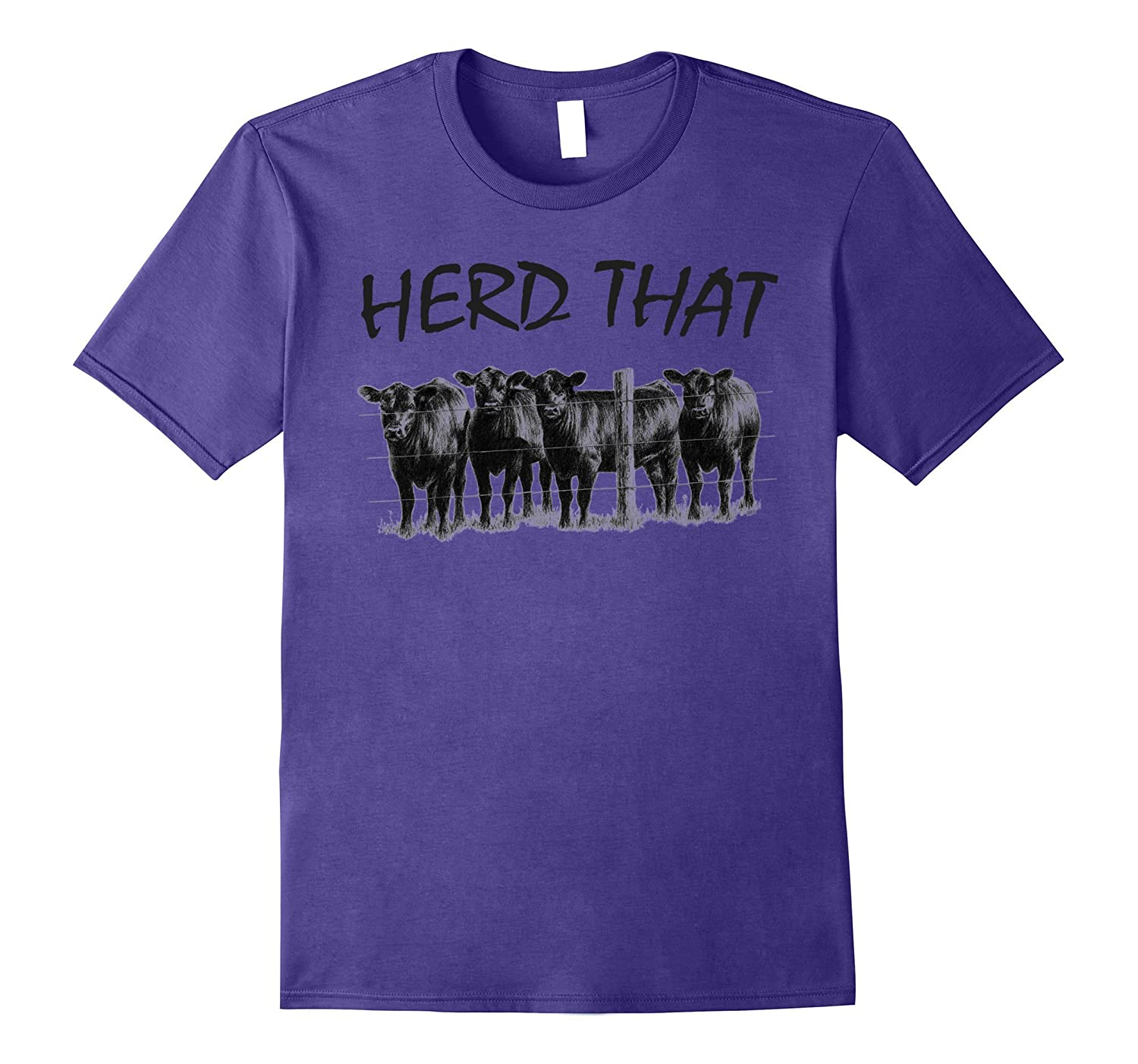 Farmer Herd That T-shirt Cow Lover-BN