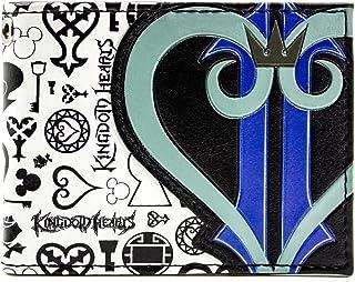 Kingdom Hearts Simboli & Logo Cuore Nero portafoglio