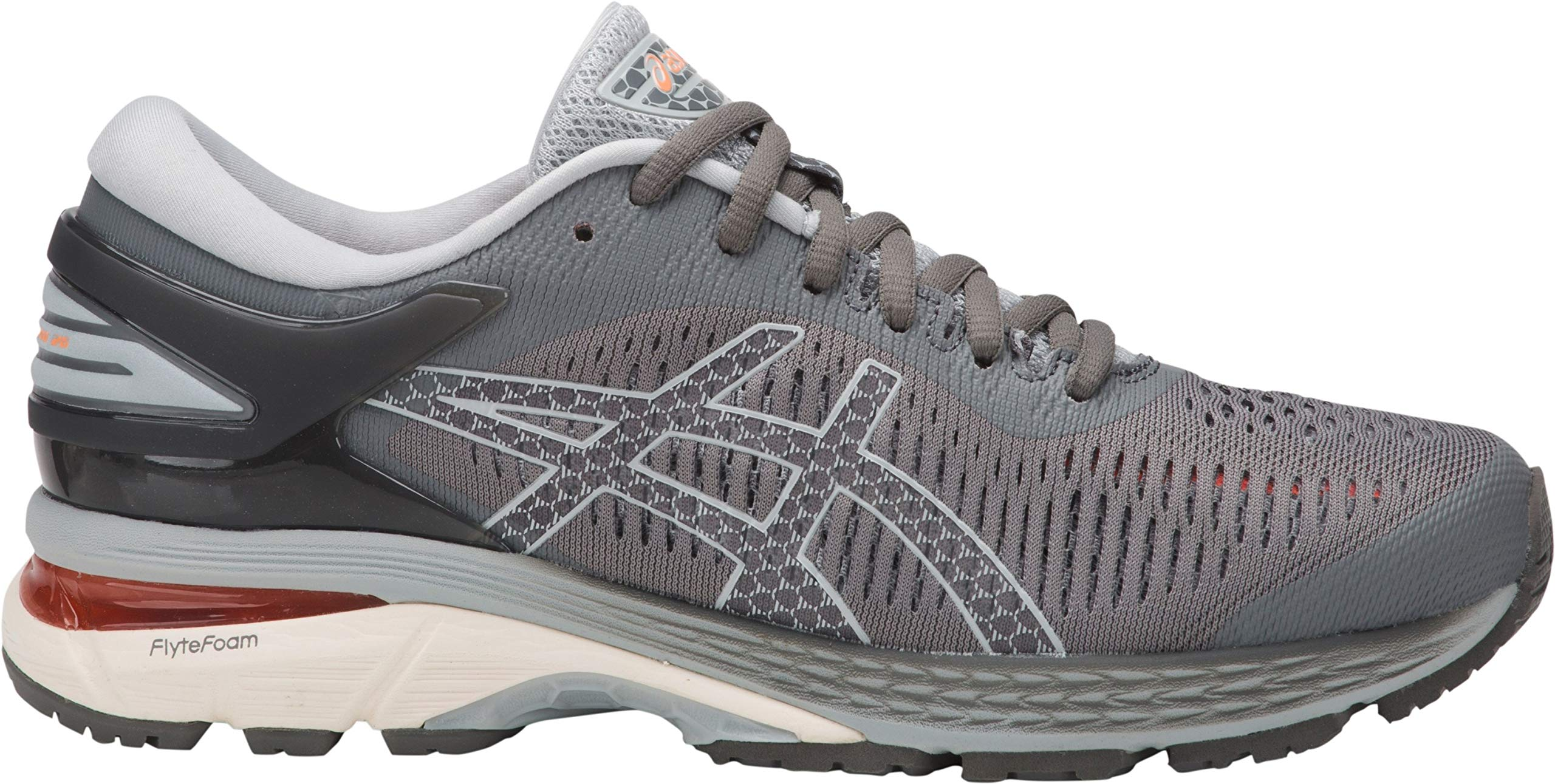 ASICS Gel-Kayano 25 Women's Running Shoe, Carbon/Mid Grey, 5 2A US