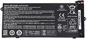 """IMK Replacement Battery for 11.25V 3990mAh 45wh Battery for Acer Chromebook 11.6"""" C720-2848 C720 C720P C740 Laptop AP13J3K 3ICP5/65/88"""