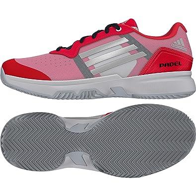 adidas Sonic Court W Padel, Zapatillas de Tenis para Mujer, Rojo ...
