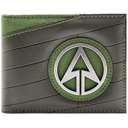 Cartera de DC Comics Arrow Emblema de superhéroes Negro ...