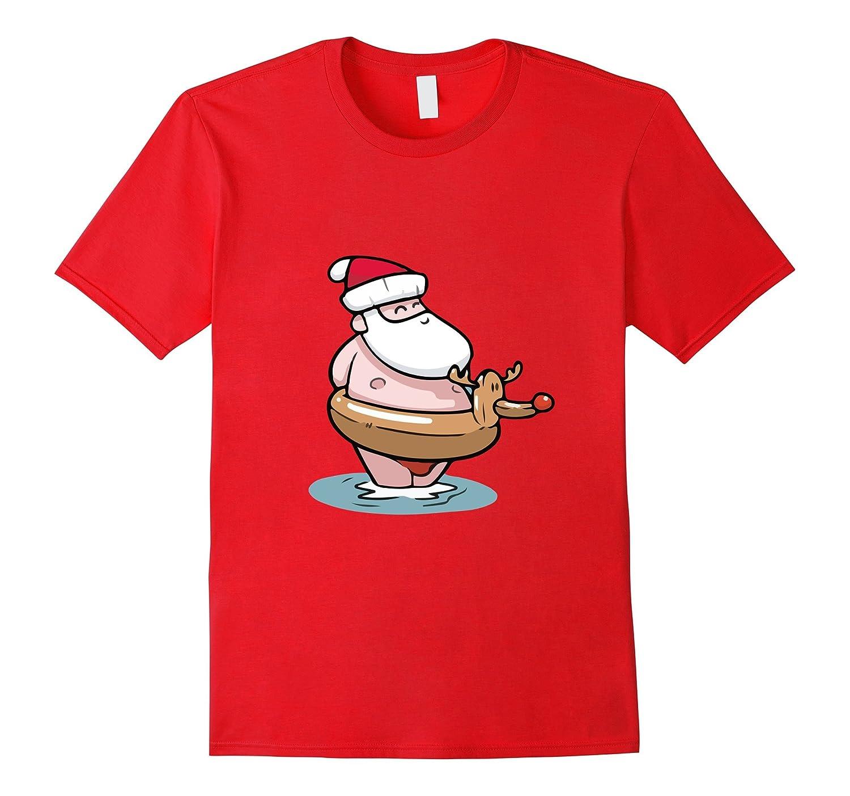 51b61cd36 Santa Claus Surfing Hawaiian Shirt Summer Christmas Outfit-RT – Rateeshirt