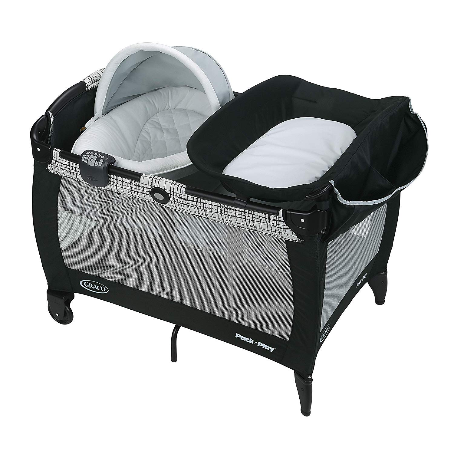 Graco Pack 'n Play Newborn Seat Oasis with Soothe Surround - Teigen
