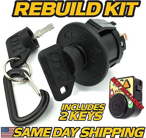 Cub Cadet Ignition Switch LT1040 LT1042 LT1045 LT1046 LT1050 LT2042 CC30,  FMZ50 - OEM Upgrade W/2 Keys - HD Switch