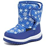 Amazon Price History for:FANTINY Toddler Winter Snow Boots For Boy and Girl Outdoor Waterproof with Fur Lined
