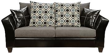 Holly Sofa In Denver Black