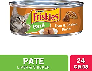 Purina Friskies Canned Wet Cat Food - (24) 5.5 oz. Cans