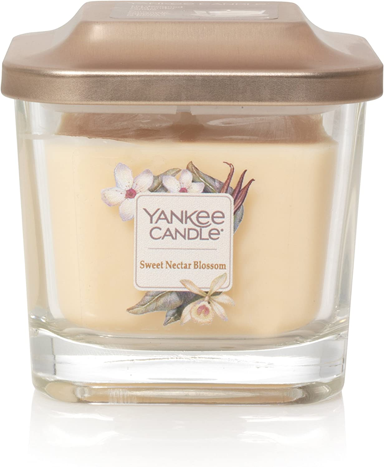 Yankee Candle Company Elevation Collection with Platform Lid, Small 1-Wick Candle