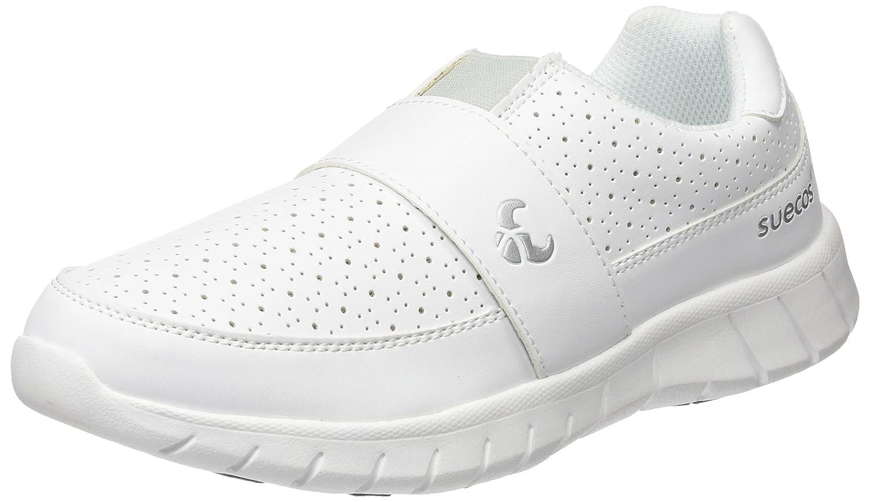 Blanc (blanc 01) 42 EU Suecos® Edda, Chaussures de Travail Mixte Adulte
