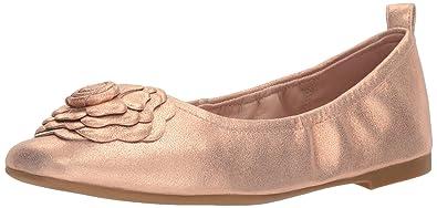 429592bbef80 Taryn Rose Women s Rosalyn Powder Metallic Ballet Flat Rose Gold 5 M M US