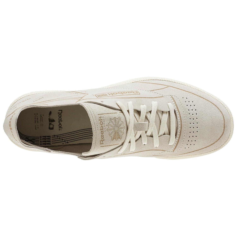 new style 473b0 fa969 Reebok Men s Club C 85 HMG, Classic White Urban Grey BD1965 (10.5)   Amazon.co.uk  Shoes   Bags