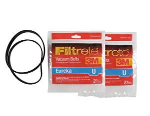 Filtret Eureka U Belt, 4 Pack