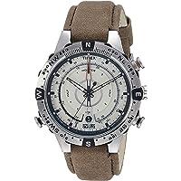 Timex Intelligent Quartz Compass Chronograph Off-White Dial Men's Watch - T2N721